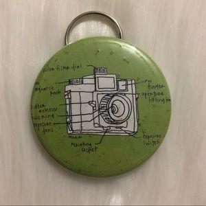🔮 5/$25 Camera Diagram Keychain/Bottle Opener